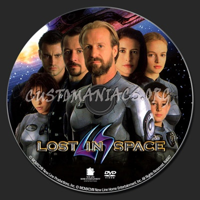 Lost in Space dvd label