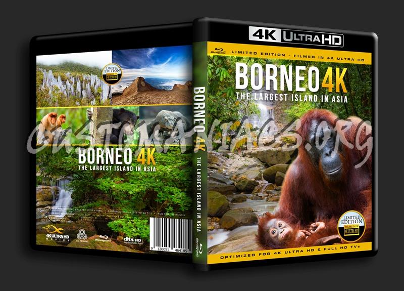 Borneo 4K blu-ray cover