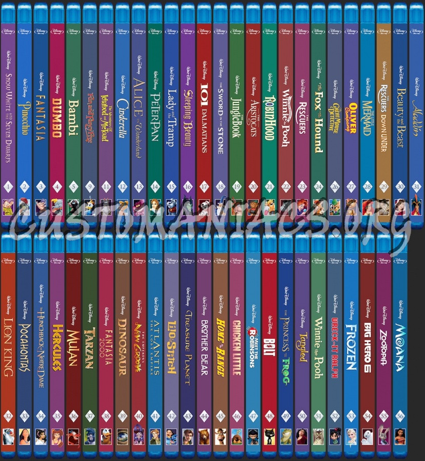 Disney Collection dvd cover