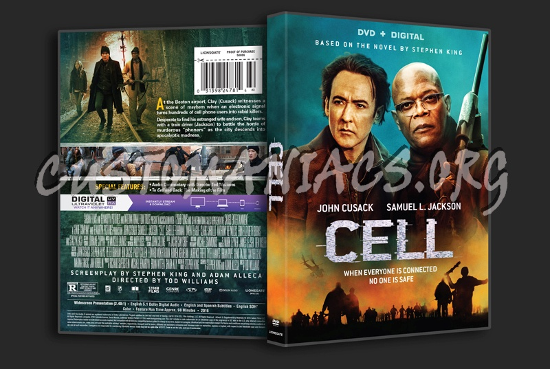 Cell dvd cover