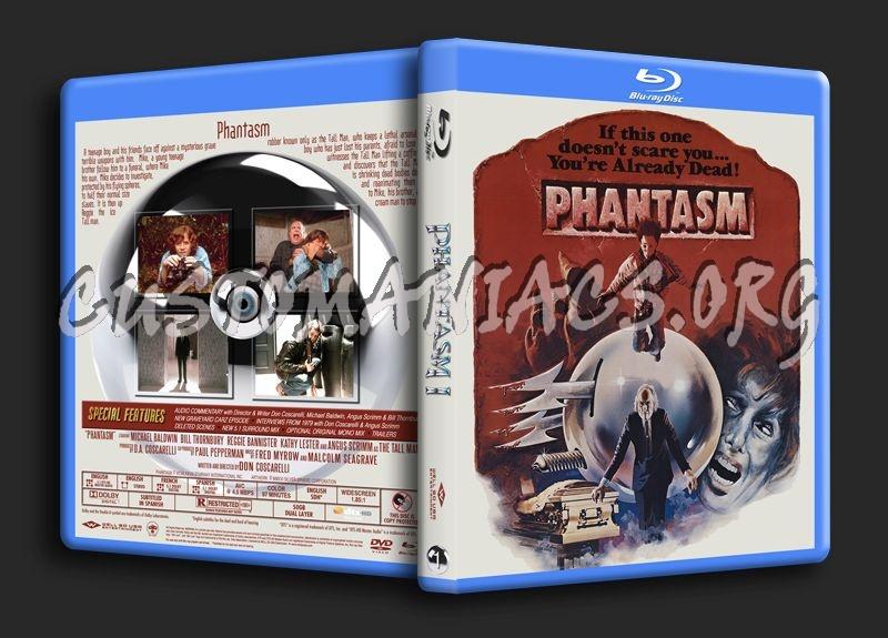 Phantasm Remastered 1 blu-ray cover