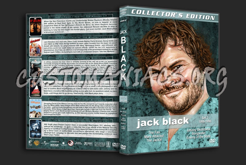Jack Black Film Collection - Set 3 (1996-1998) dvd cover