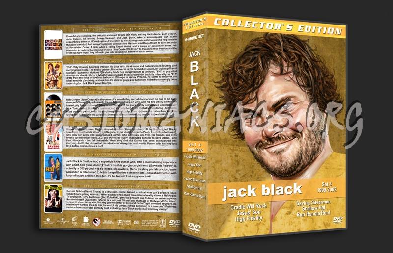 Jack Black Film Collection - Set 4 (1999-2002) dvd cover