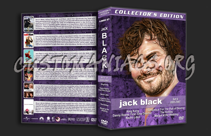 Jack Black Film Collection - Set 6 (2005-2007) dvd cover