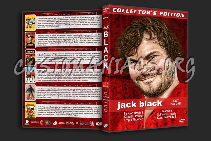 Jack Black Film Collection - Set 7 (2008-2011) dvd cover