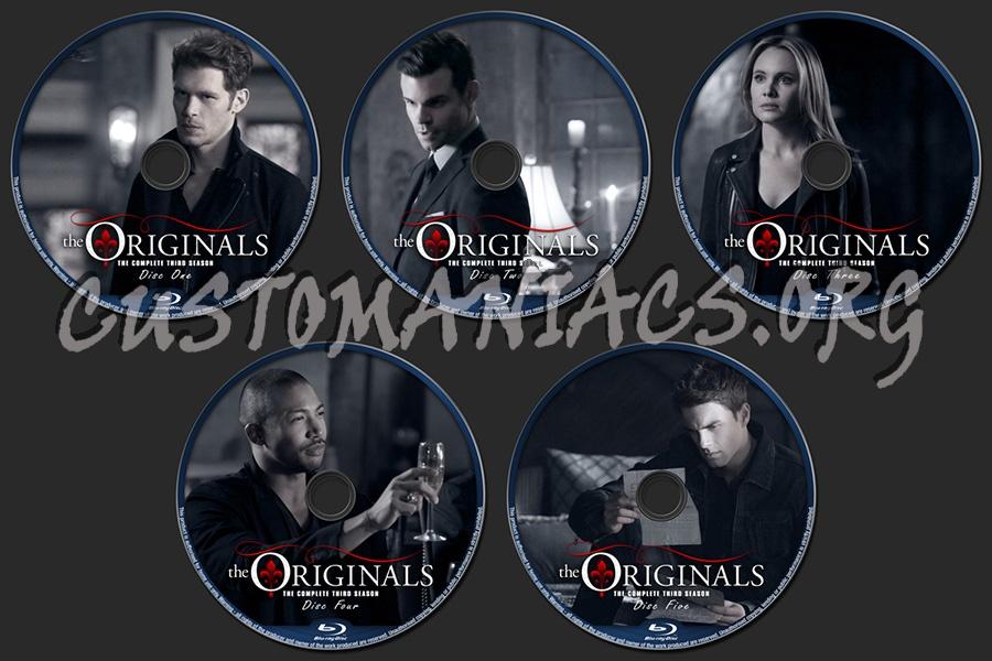 The Originals Season 3 blu-ray label