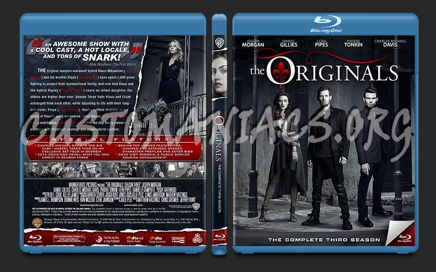The Originals Season 3 blu-ray cover