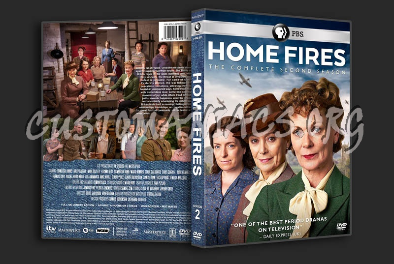Home Fires - Season 2 dvd cover
