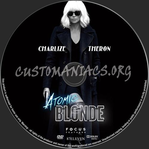 Atomic Blonde dvd label