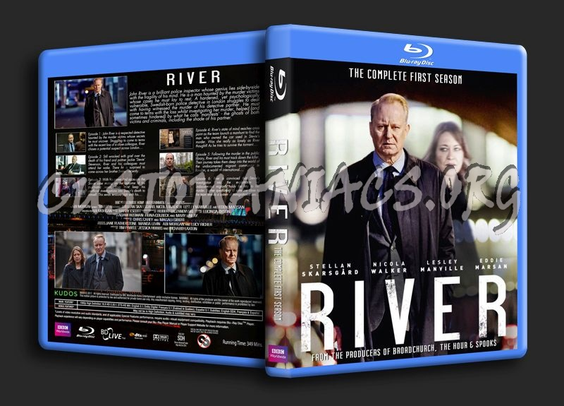 River - Season 1 blu-ray cover