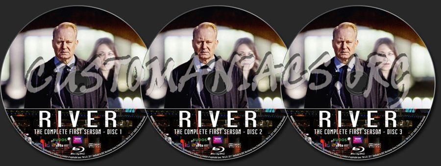 River - Season 1 blu-ray label