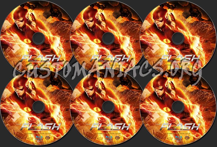 The Flash Season 3 blu-ray label
