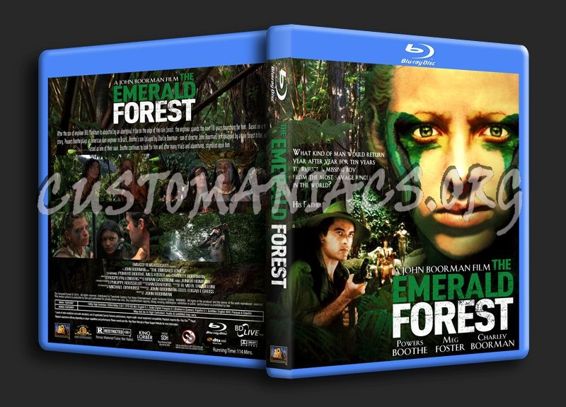The Emerald Forest (1985) blu-ray cover