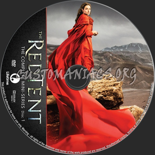 The Red Tent Mini-Series dvd label