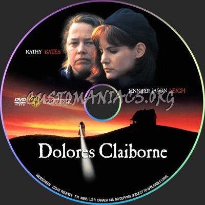 Dolores Claiborne dvd label