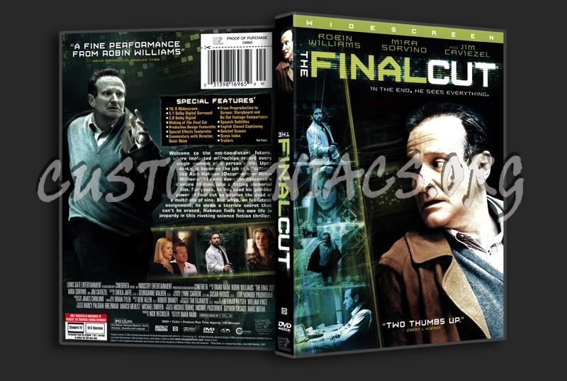 The Final Cut dvd cover