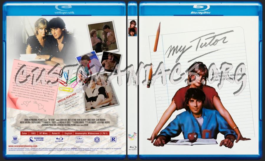 My Tutor (1983) blu-ray cover