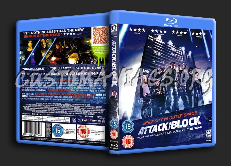 Attack the Block blu-ray cover