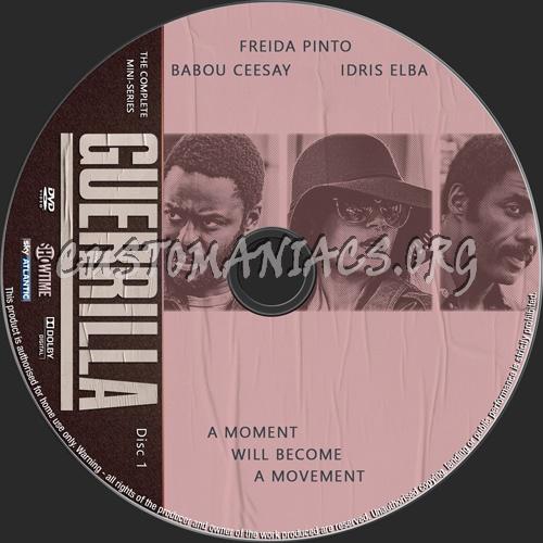 Guerilla Mini-Series dvd label