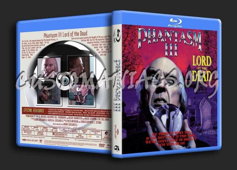 Phantasm Remastered III blu-ray cover
