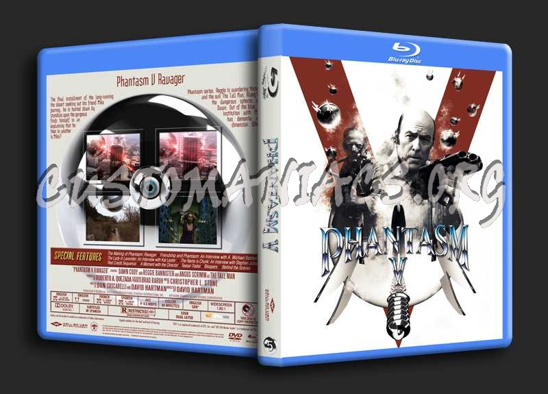 Phantasm Remastered V blu-ray cover