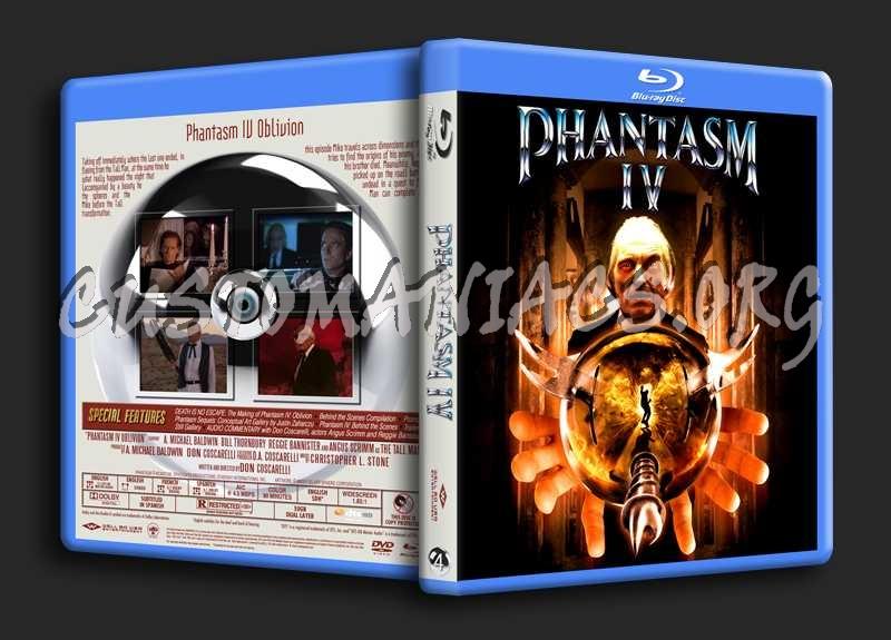 Phantasm Remastered IV blu-ray cover