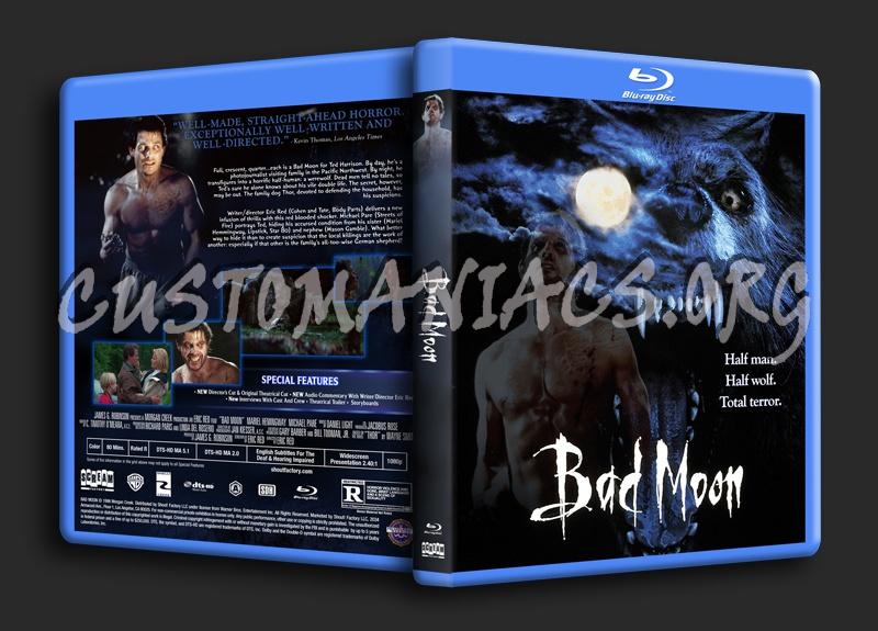 Bad Moon (1996) blu-ray cover