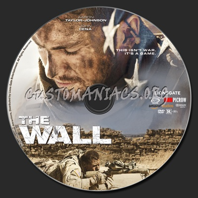 The Wall (2017) dvd label - DVD Covers & Labels by Customaniacs, id ...