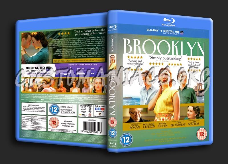 Brooklyn blu-ray cover