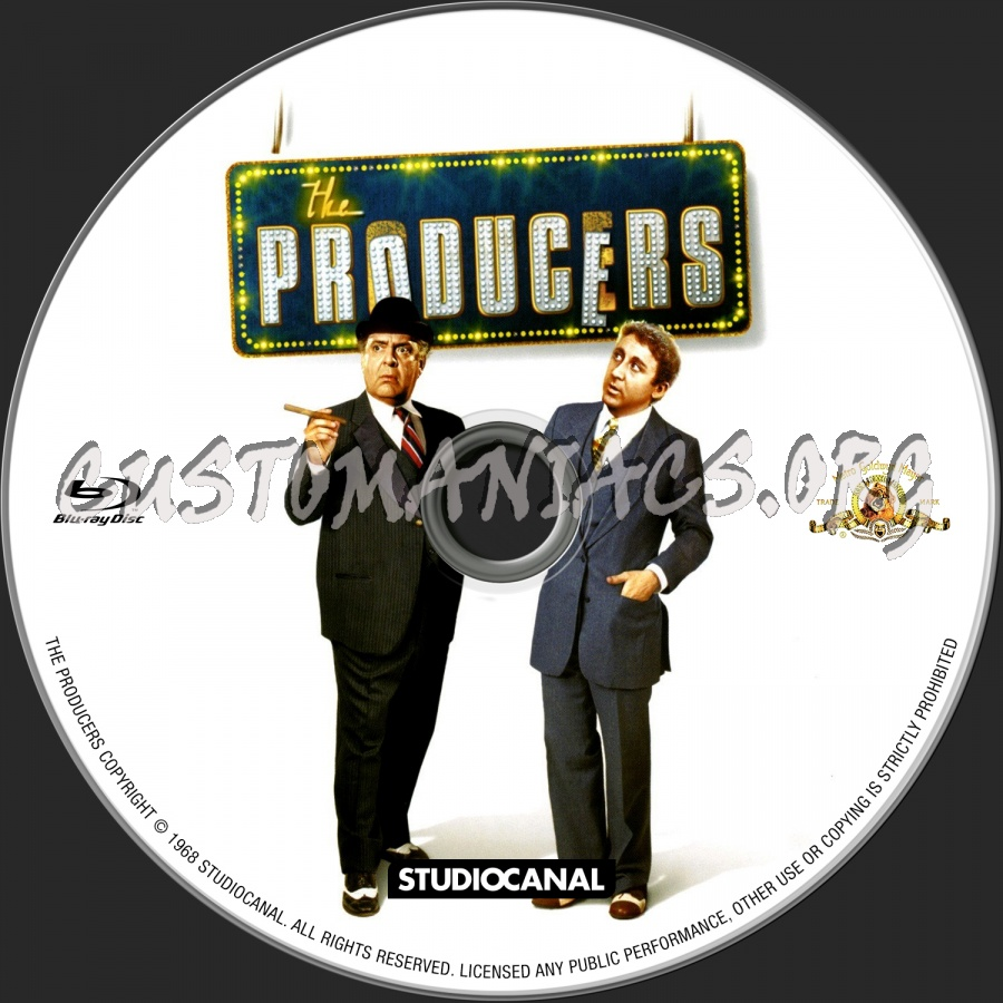 The Producers (1968) blu-ray label