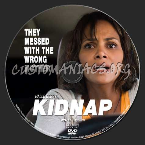 Kidnap (2017) dvd label
