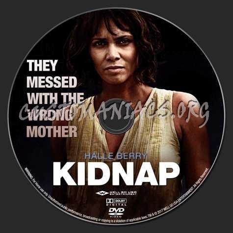 Kidnap (2017) dvd label