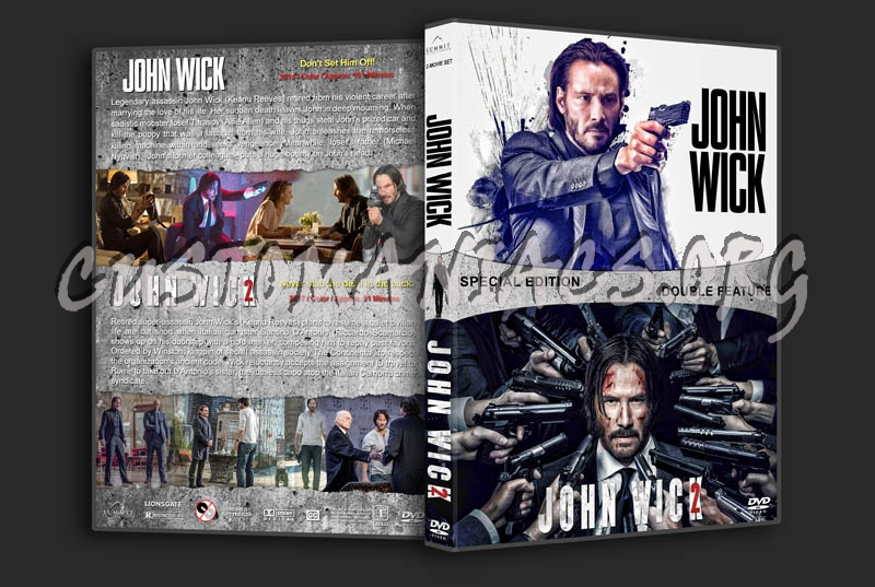 John Wick Double Feature dvd cover