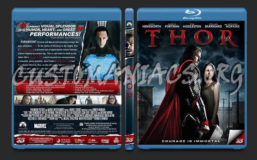 Thor blu-ray cover