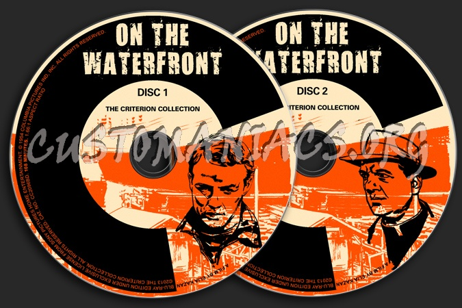 647 - On The Waterfront dvd label