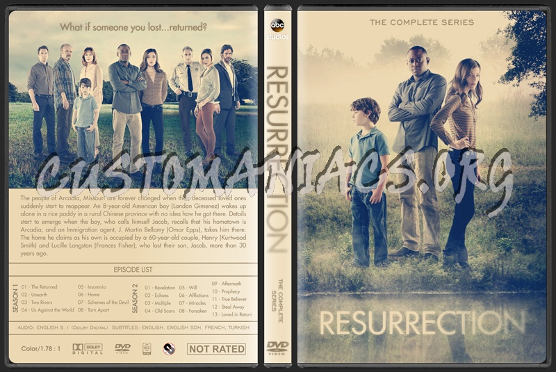 Resurrection (Complete Series) dvd cover