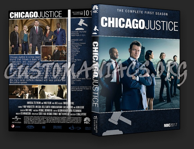 Chicago Justice (Chicago Franchise Collection) dvd cover