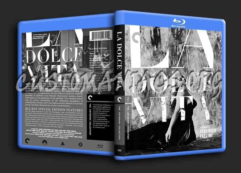 733 - La Dolce Vita blu-ray cover