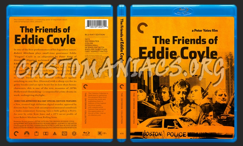 475 - The Friends Of Eddie Coyle blu-ray cover