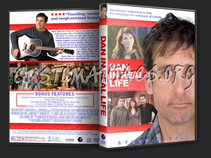 Dan In Real Life Dvd Cover Dvd Covers Labels By Customaniacs Id 40527 Free Download Highres Dvd Cover