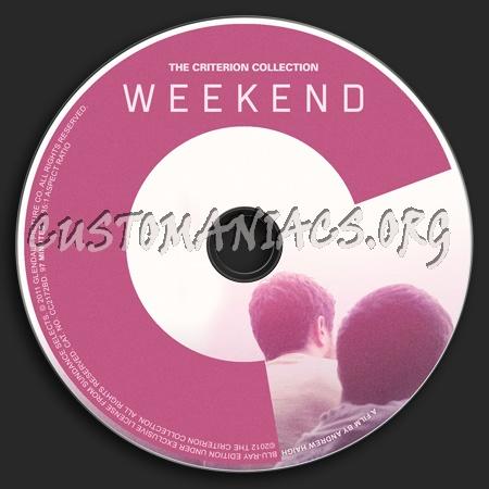 622 - Weekend  (2011) dvd label