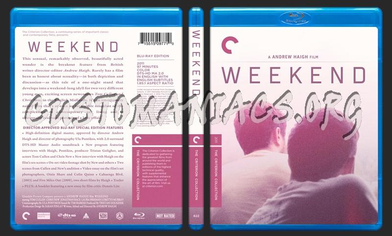 622 - Weekend  (2011) blu-ray cover