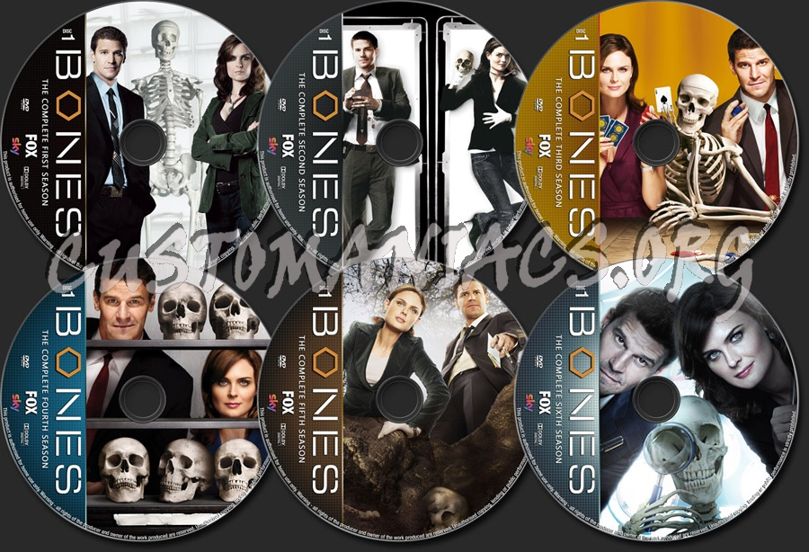 Bones Complete dvd label