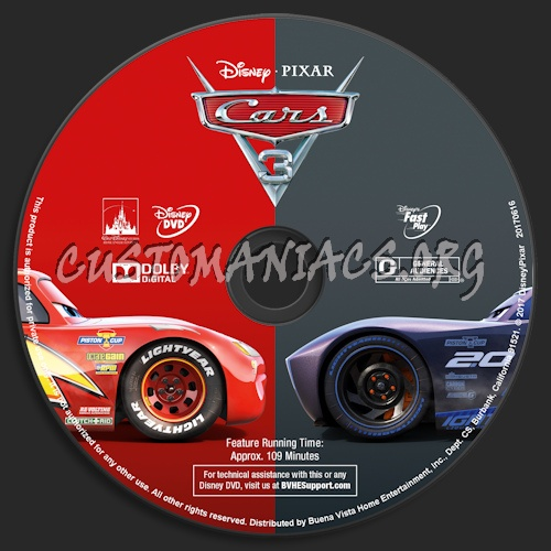cars 3 dvd label dvd covers labels by customaniacs id 247754 free download highres dvd label. Black Bedroom Furniture Sets. Home Design Ideas
