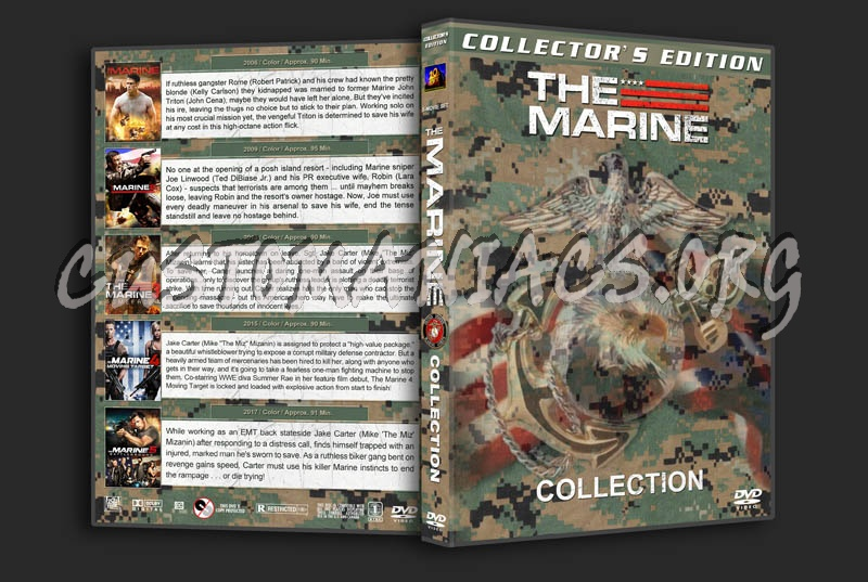 The Marine Collection (5) dvd cover