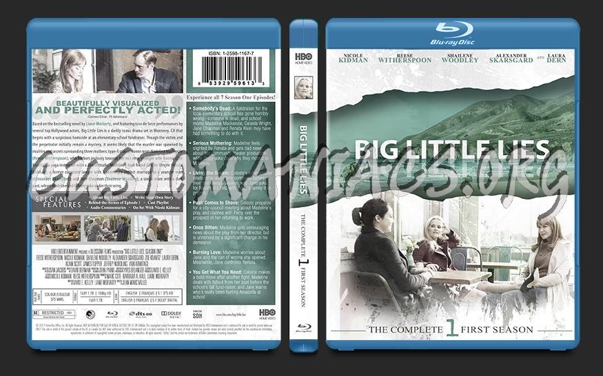 Big Little Lies Season 1 blu-ray cover