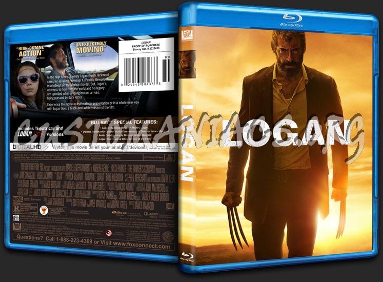 Logan blu-ray cover