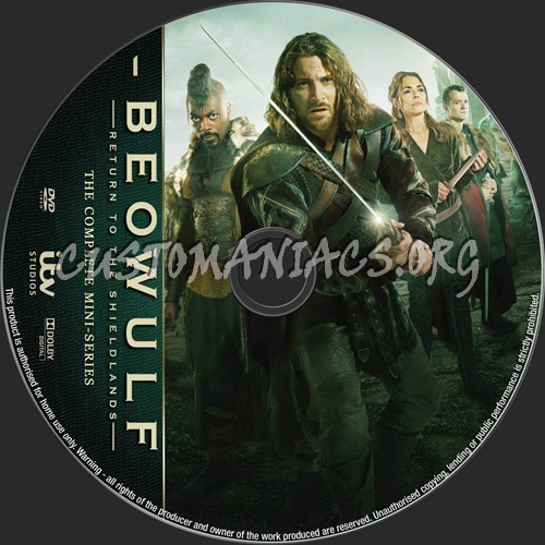 Beowulf The Mini-Series dvd label