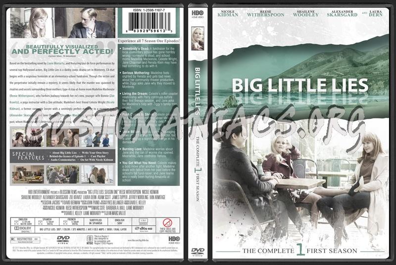 Big Little Lies Season 1 dvd cover