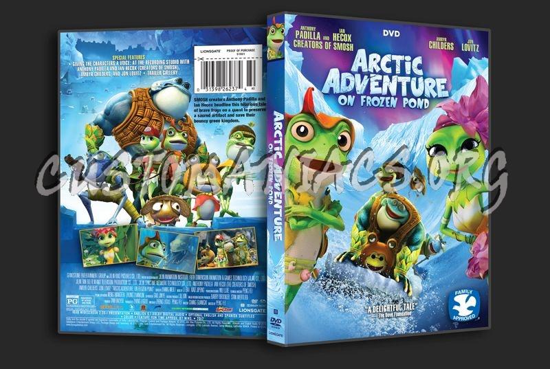 Arctic Adventure on Frozen Pond dvd cover
